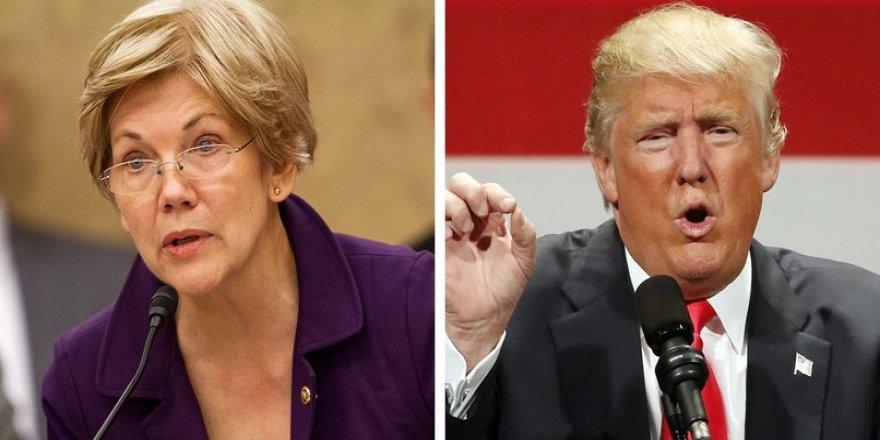 """""""Trump'ı devirecek isim"""" Elizabeth Warren harekete geçti!"""