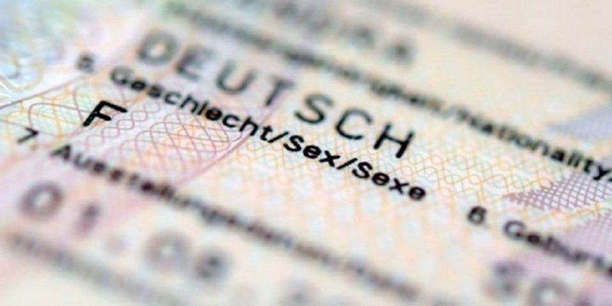 Almanya'da 3. cinsiyet uygulaması