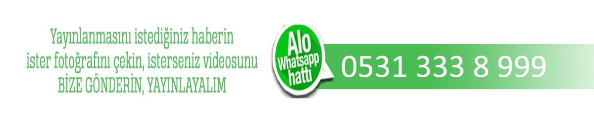 NGazete Whatsapp ihbar hattı artık sizinle