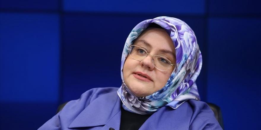 Aile, Çalışma Ve Sosyal Hizmetler Bakanı Selçuk: Her Daim Diyoruz Ki Kadına Şiddet İnsanlığa İhanettir