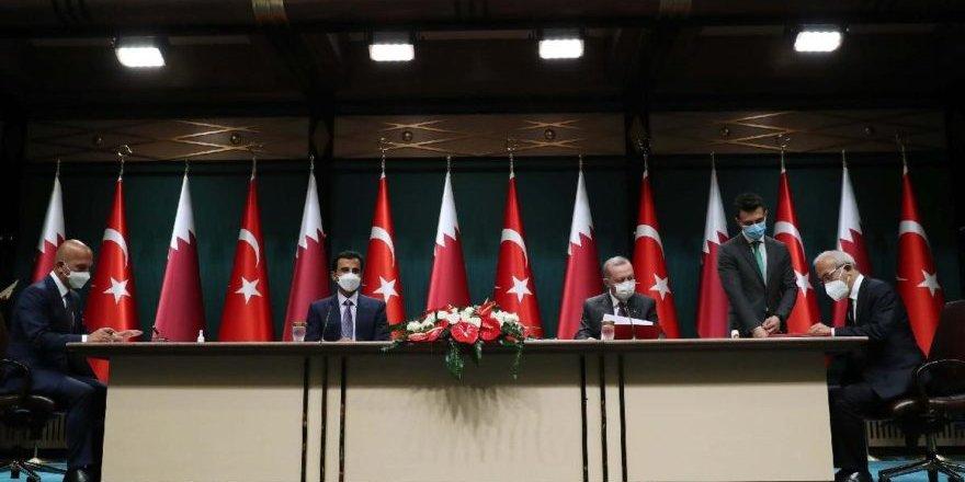 Katar İle Türkiye Arasında 10 Anlaşma