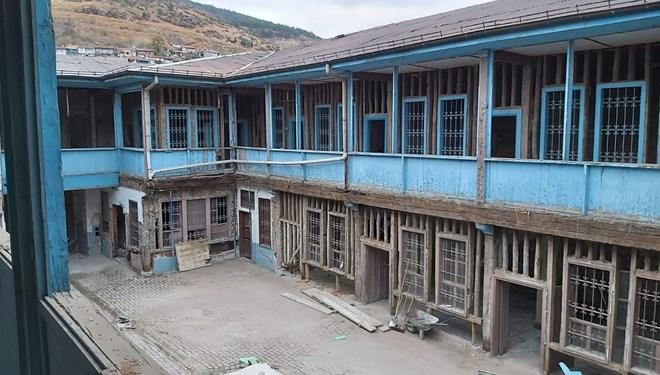 Suluhan Çocuk Müze Okulu projesinde restorasyon çalışmaları başladı