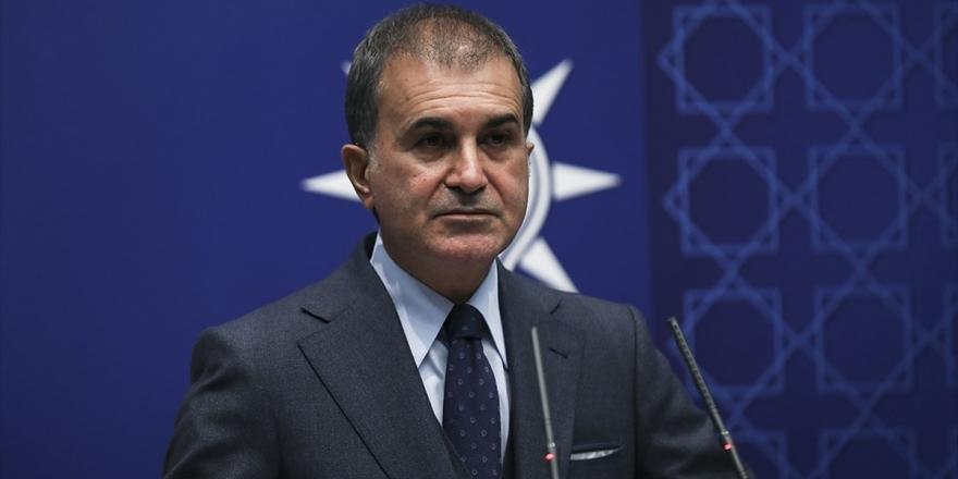 Ak Parti Sözcüsü Çelik: Tbmm Üyesi Bir Şahsın Milletin Ordusuna Saygısızlığı Asla Kabul Edilemez