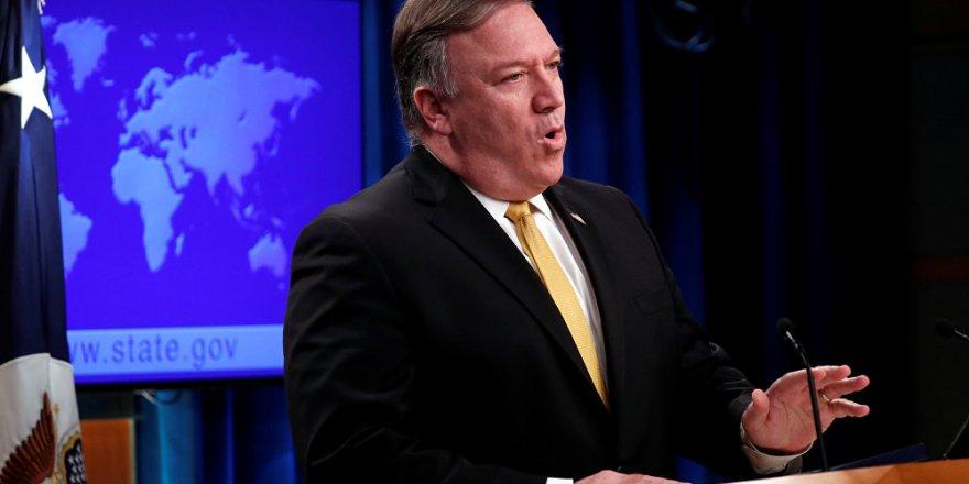 Pompeo: ABD, Türklerin Suriye'de Kürtleri kıyıma uğratmamasını güvence altına almaya çalışıyor