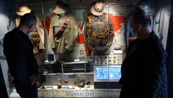 Çanakkale Savaşları Mobil Müzesi'nin 50'nci durağı Osmaniye