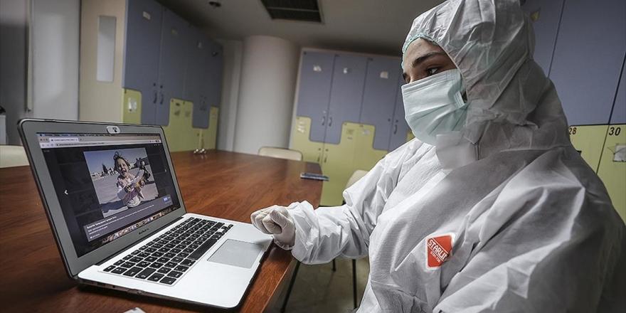Aa'nın 'Yılın Fotoğrafları' Oylamasına İlk Katılanlar Sağlık Çalışanları Oldu