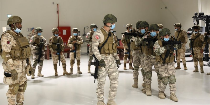 MSB'den Katarlı Komandolara Eğitim
