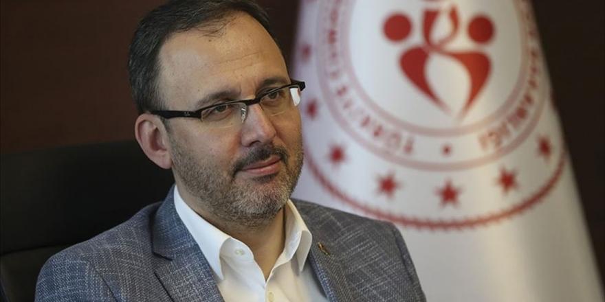 Gençlik ve Spor Bakanı Kasapoğlu, koronoavirüse yakalandı