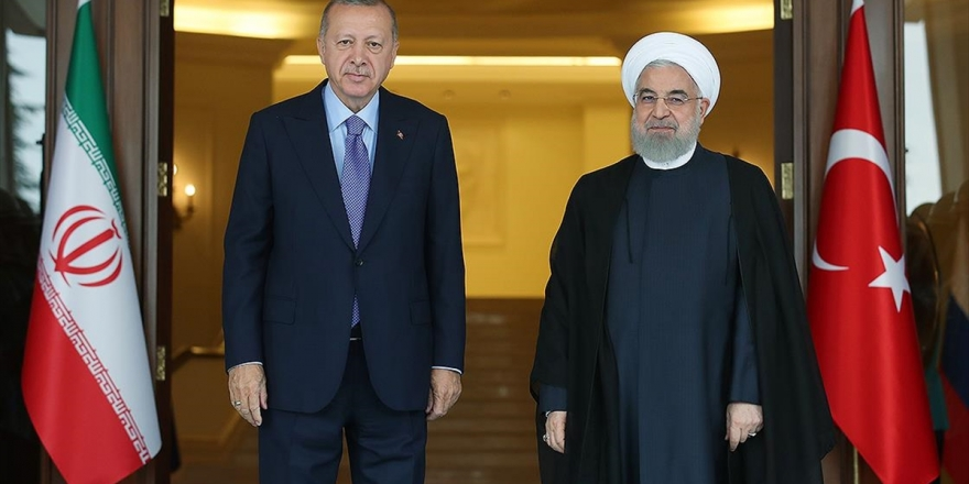 Erdoğan İle Ruhani Görüştü