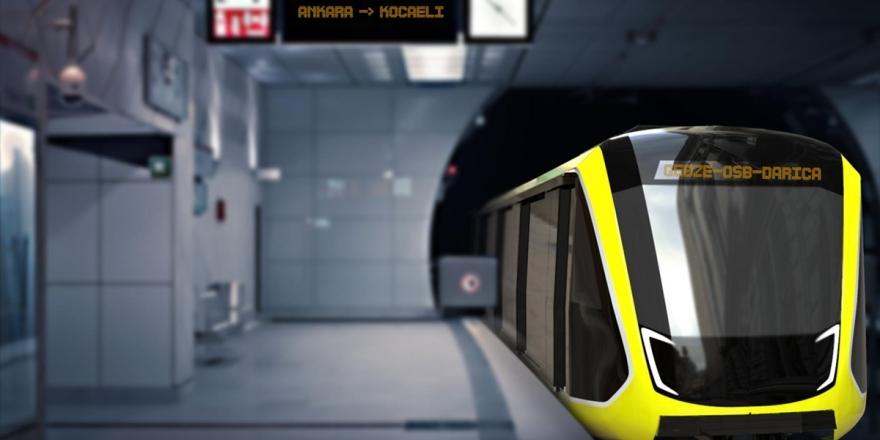 Türkiye'nin İlk Yerli Metro Seti Kocaeli Metrosu İçin Ankara'da Üretilecek