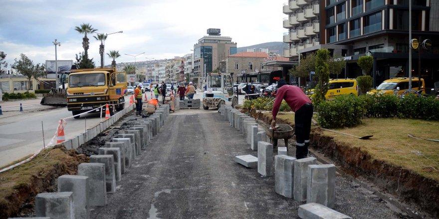 Kuşadası Trafik Sakinleştirme Projesi Çalışmaları Planlama Dahilinde Devam Ediyor