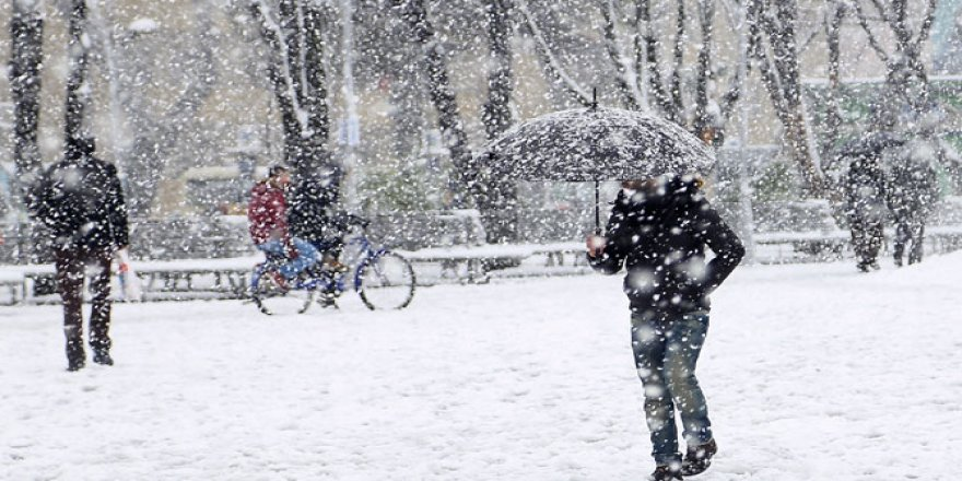 15 İlde Okullara Kar Tatili