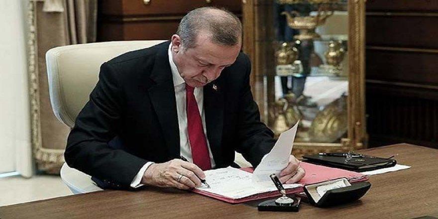 Erdoğan'ın yeni danışmanları açıklandı