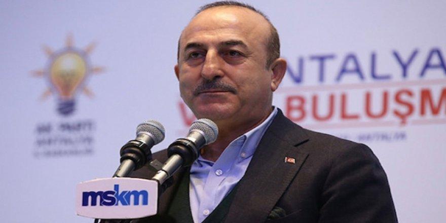 """Çavuşoğlu: """"Bu davayı zor zamanlarda taşıyamayanlarla biz bu yola devam edemeyiz"""""""