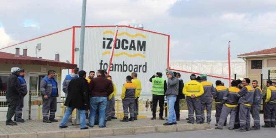 İzocam işçilerinden grev kararı