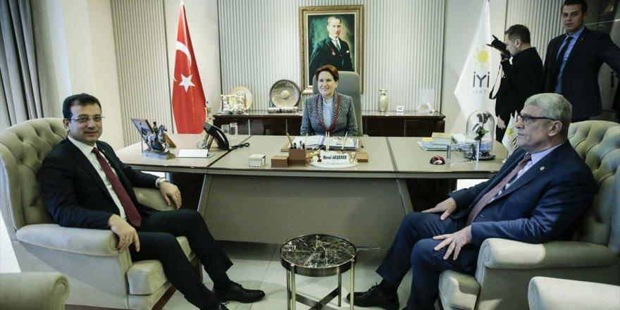 Ekrem İmamoğlu'dan, Meral Akşener'e ziyaret