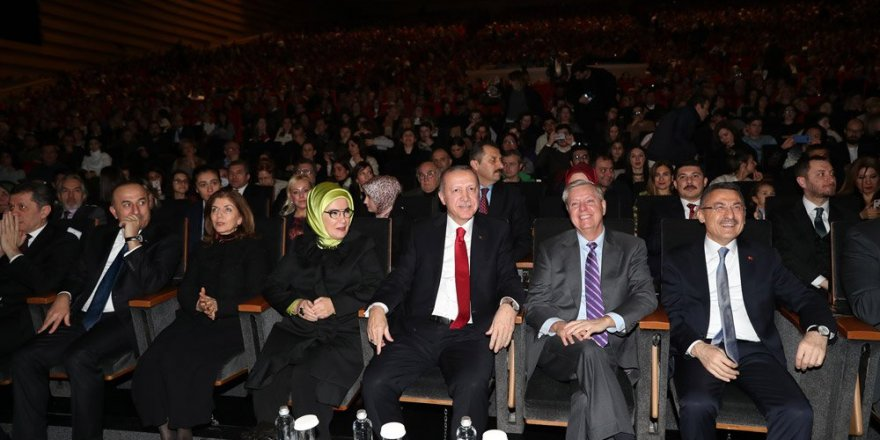 Ve Erdoğan, Fazıl Say konserinde...
