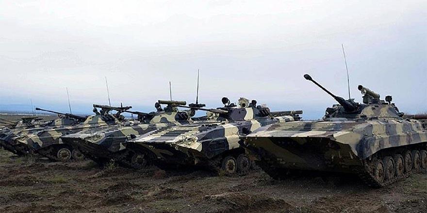 Azerbaycan ordusundan dev tatbikat: 20 bin asker katılıyor