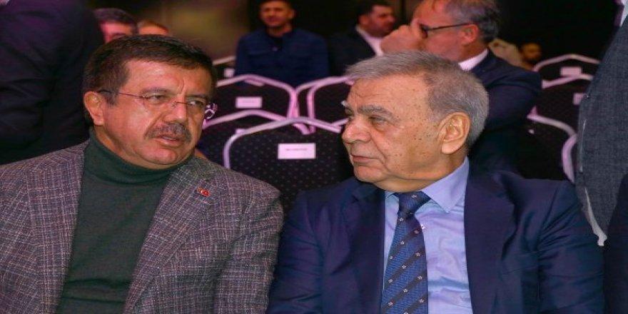 CHP ve AK Parti adayları fuarda bir araya geldi