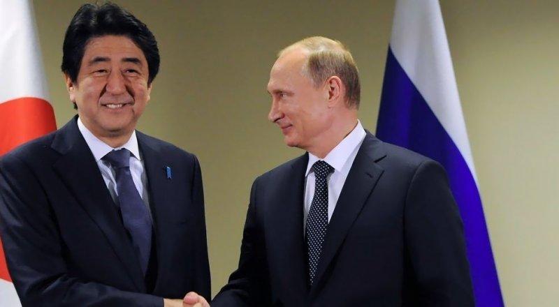 VLADİMİR PUTİN, JAPONYA BAŞBAKANI ŞİNZO ABE İLE MOSKOVA'DA GÖRÜŞTÜ.