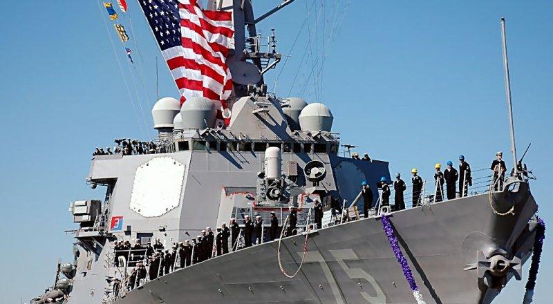 ABD SAVAŞ GEMİSİ ''USS DONALD COOK'' TATBİKAT İÇİN BATUM LİMANINDA