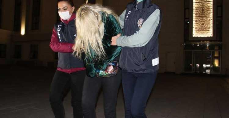 Ümitcan Uygun'un uyuşturucu kullandığı görüntülerde yanında bulunan kadın serbest bırakıldı