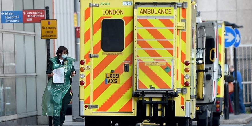 İngiltere'de Kovid-19'dan Son 24 Saatte 1564 Kişi Hayatını Kaybetti