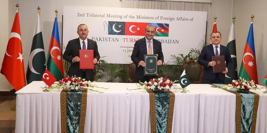 Türkiye, Azerbaycan Ve Pakistan'dan Birçok Alanda İş Birliğini Derinleştirecek 'İslamabad Deklarasyonu'