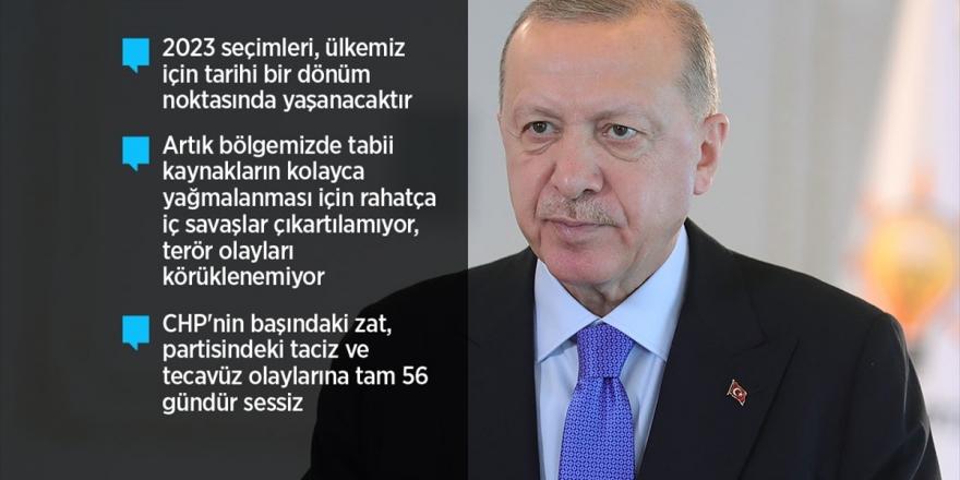 Cumhurbaşkanı Erdoğan: Ülkemizin Ve Milletimizin Geleceği İçin Vizyonu, Hedefleri, Projesi Olan Tek Parti Biziz