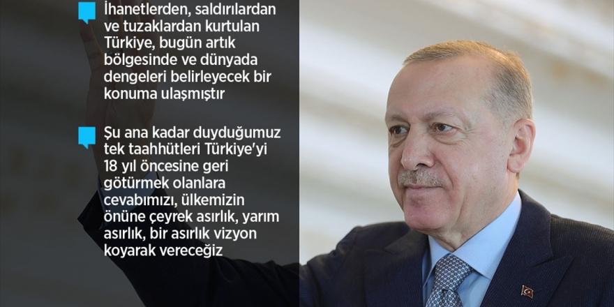 Cumhurbaşkanı Erdoğan: Reform Adımlarıyla İlgili Hazırlıklarımız Kamuoyuna Sunma Aşamasına Geldi