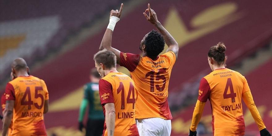Sahasında Farklı Kazanan Galatasaray Zirve Takibini Sürdürdü