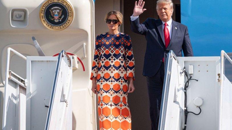 ABD bu kareyi konuşuyor! Melania Trump'ın seçimi veda gününe damga vurdu