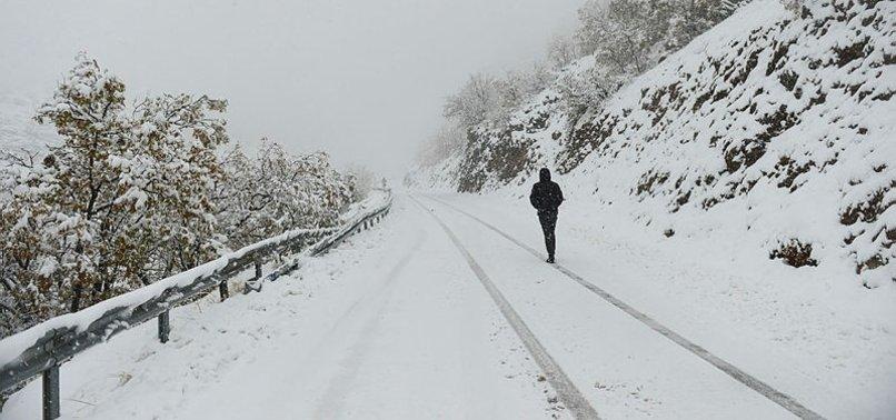 Meteoroloji'den 11 kentimize kar yağışı uyarısı! Çığ tehlikesine dikkat!