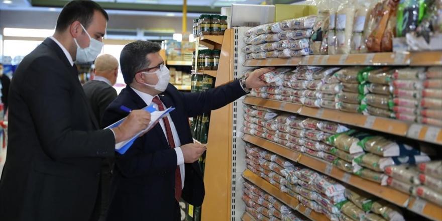 Ticaret Bakanlığınca Temel İhtiyaç Ürünlerinde 'Fahiş Fiyat' Denetimi Yapıldı