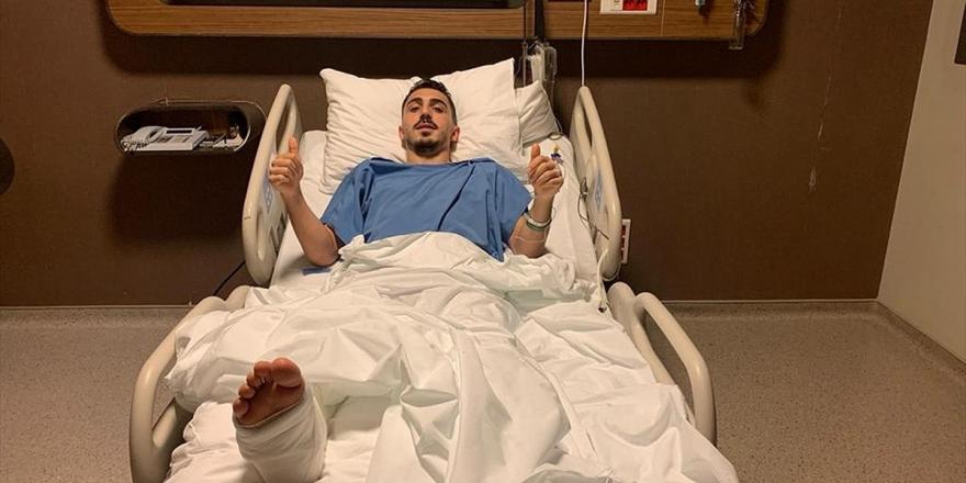 Trabzonsporlu Futbolcu Abdülkadir Ömür Ameliyat Edildi