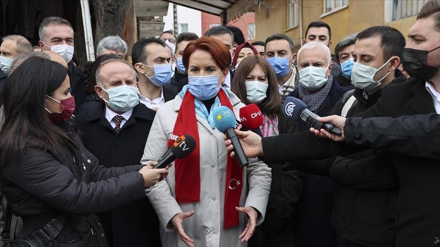 Akşener: HDP'yle yan yana gelişimiz söz konusu değil