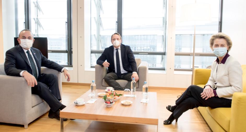 AB Komisyonu Başkanı von der Leyen, Bakan Çavuşoğlu ile görüşmesini değerlendirdi