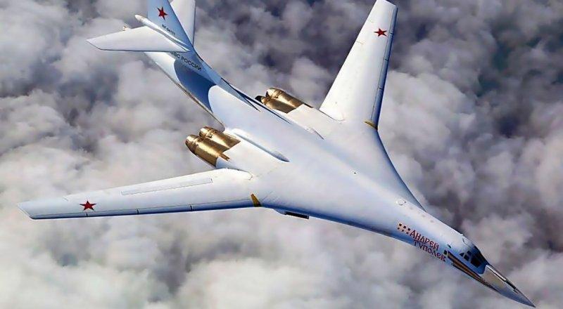 RUSYA'YA AİT İKİ ''TU-160'' BOMBARDIMAN UÇAĞI ARKTİK BÖLGENİN HAVA SAHASINDA UÇUŞ GERÇEKLEŞTİRDİ