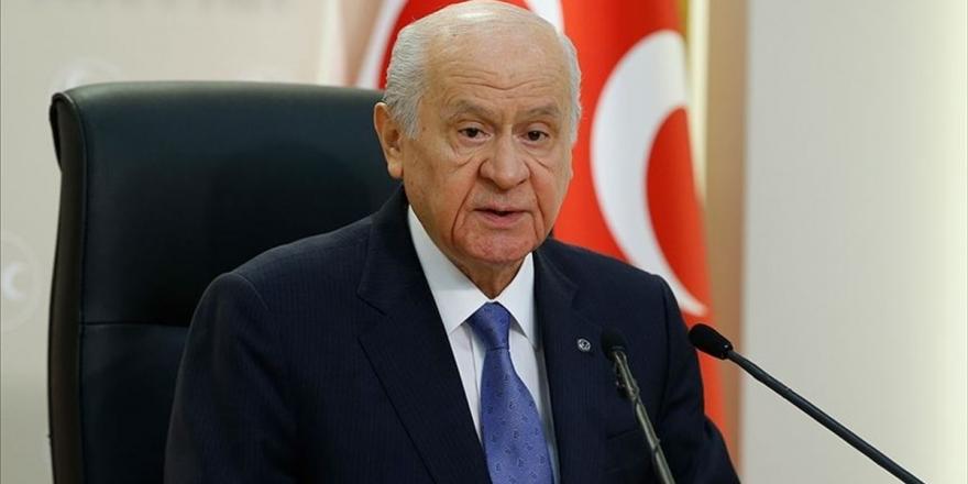 Mhp Genel Başkanı Bahçeli: Erken Seçim Dayatması Türkiye'nin Kaosa Sürüklenme Amacının Gizemli Ve Şifreli Kılıfı