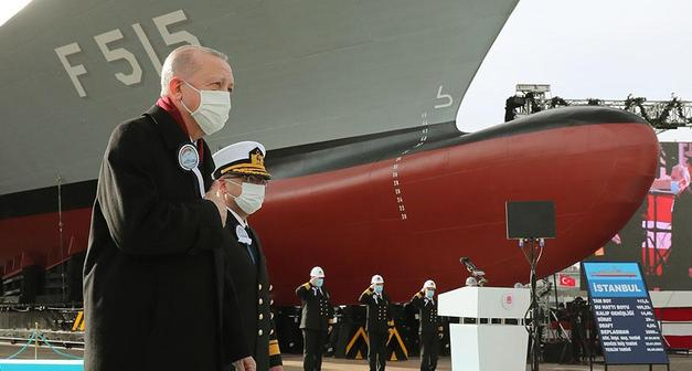 Cumhurbaşkanı Erdoğan: Kendi savaş gemisini tasarlayan 10 ülke içinde yer alıyoruz