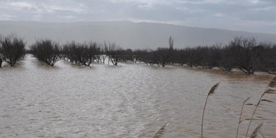 Aydın Büyük Menderes Nehri Taştı, 5 Bin Dekar Arazi Su Altında Kaldı
