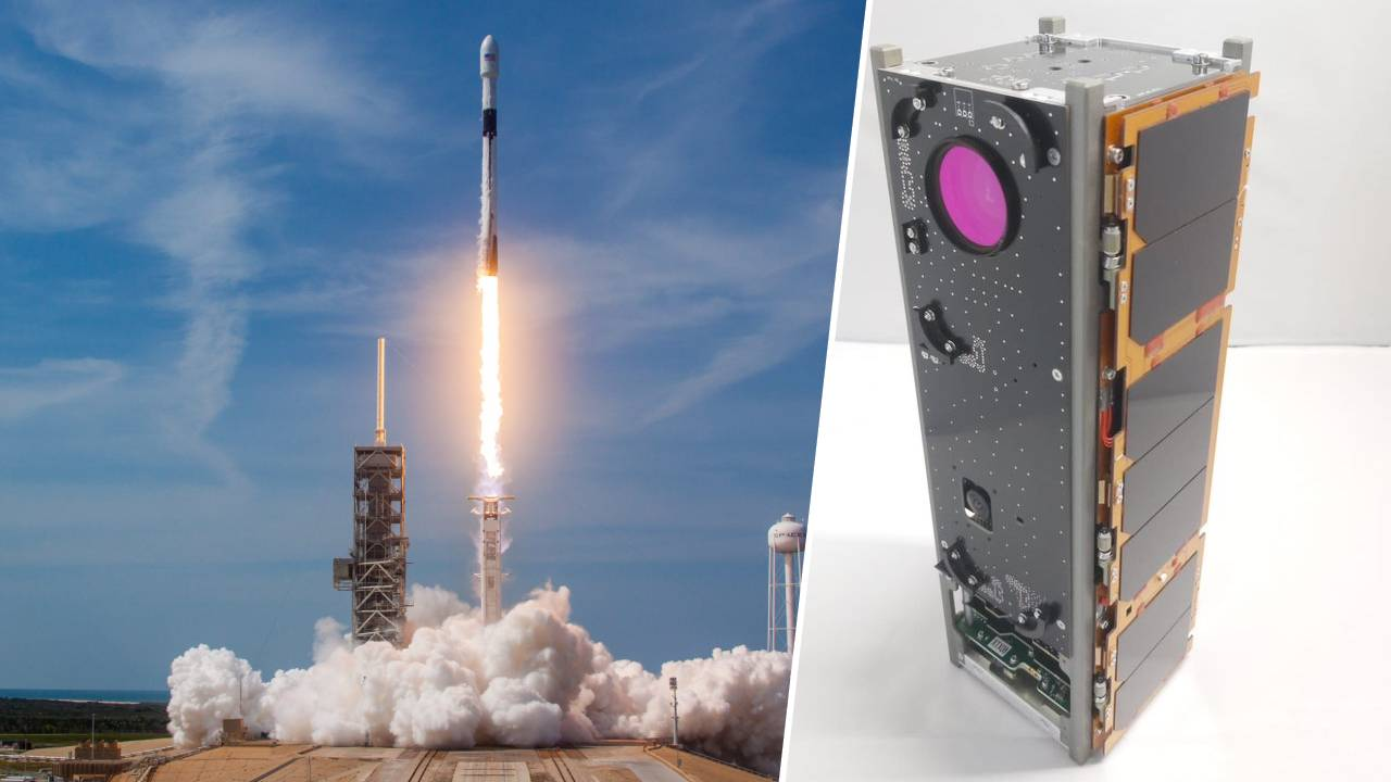 SpaceX roketi ile gönderildi! ASELSAT 3U Küp Uydusu göreve hazır