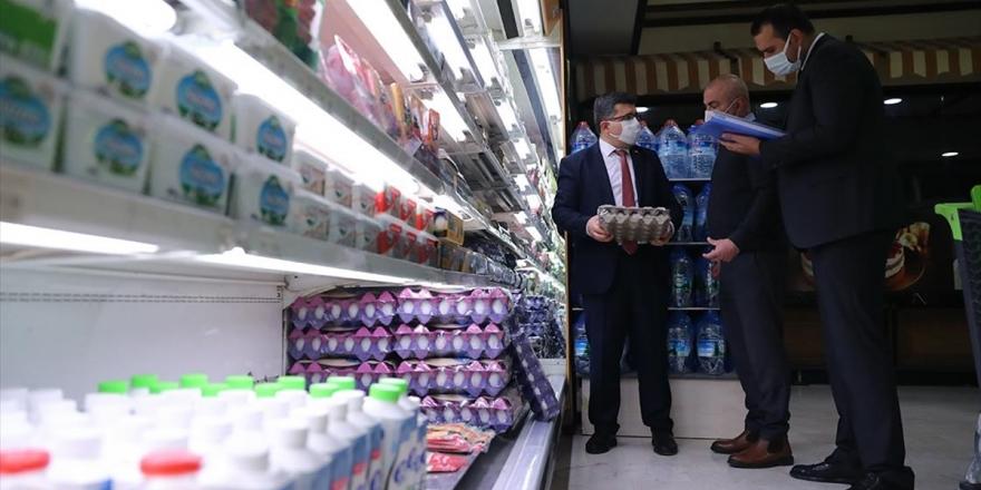 Ticaret Bakanlığı 81 İldeki Market, Pazar Yeri Ve Hallerde Fahiş Fiyat Denetimi Yaptı