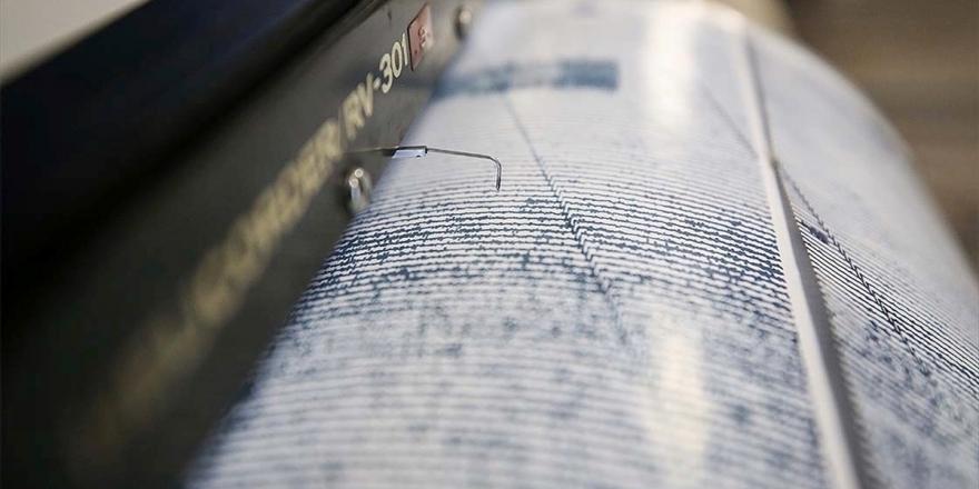 İzmir Karaburun açıklarında 3,8 büyüklüğünde deprem