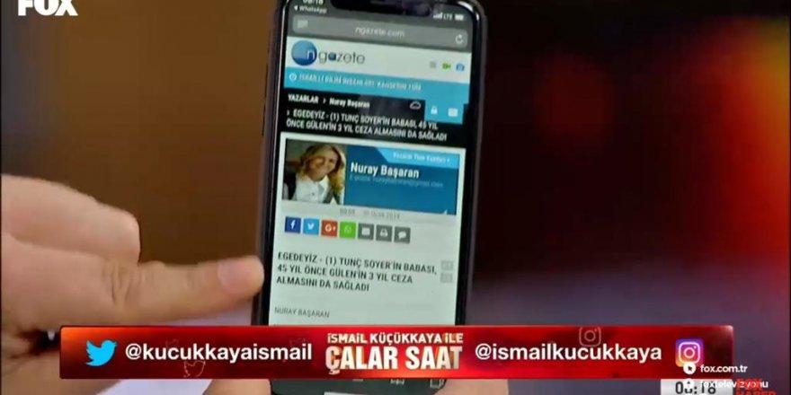 NGazete Yazarı Nuray Başaran'ın yazısı Gündeme Damga Vurdu!