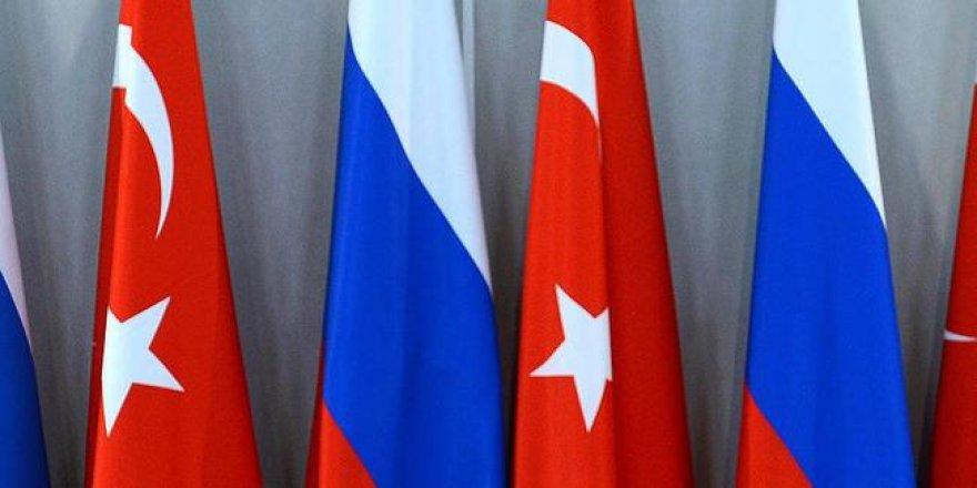 Rus heyeti, Ankara'da Suriye meselesini görüştü