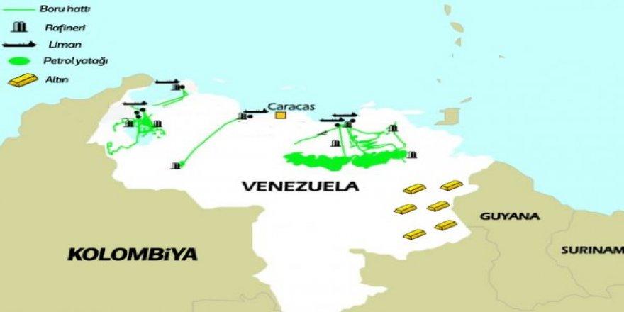 Venezuela'nın petrol ve altın yatakları