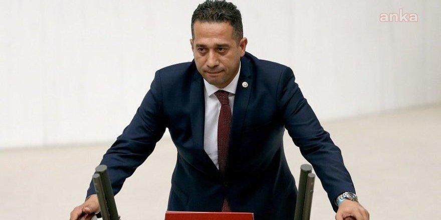 CHP'li Ali Mahir Başarır'dan Fezleke Açıklaması