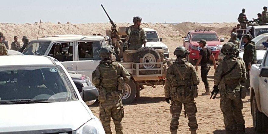 'ABD öncülüğündeki koalisyon güçleri, Fırat'ın batısında Suriye ordusuna saldırdı'
