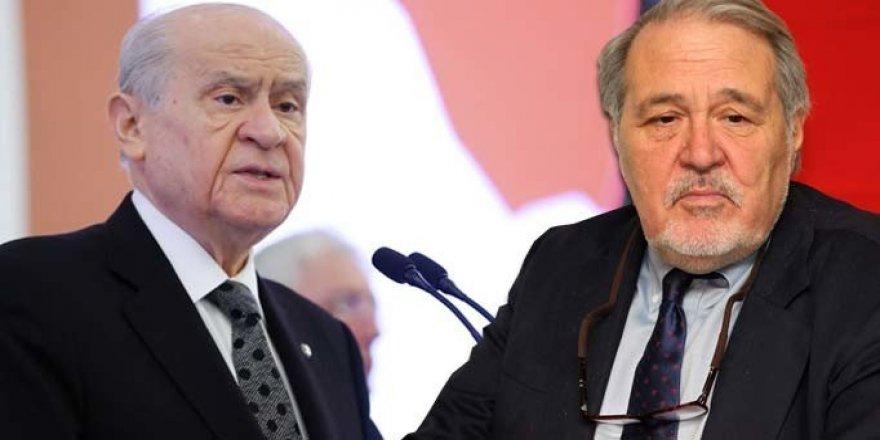 """MHP lideri Bahçeli: """"Ortaylı gülmeye devam etsin, ama haline"""""""